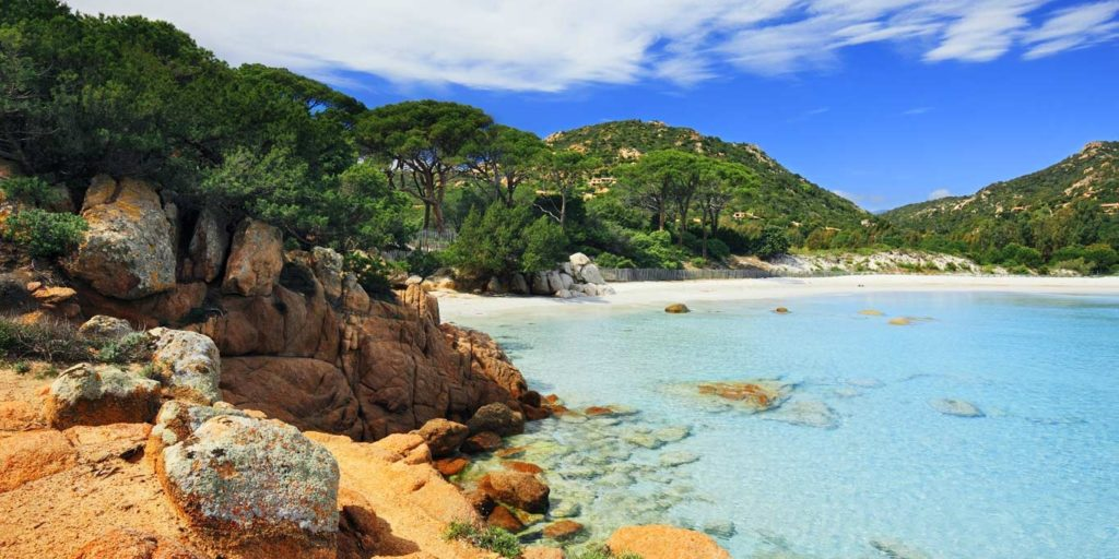 SkiMaquis ontdekcorsica Plage de Palombaggia Corsica Frankrijk strand zee