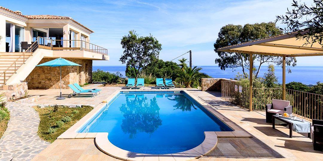 Villa Monte Ortu Calvi Balagne Corsica Frankrijk